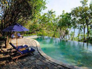Poolside room
