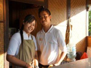 kitchen staff menjangan