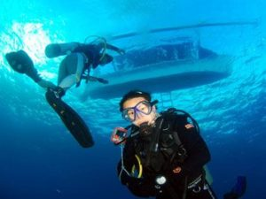 underwater diving course