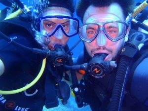 diving course with us
